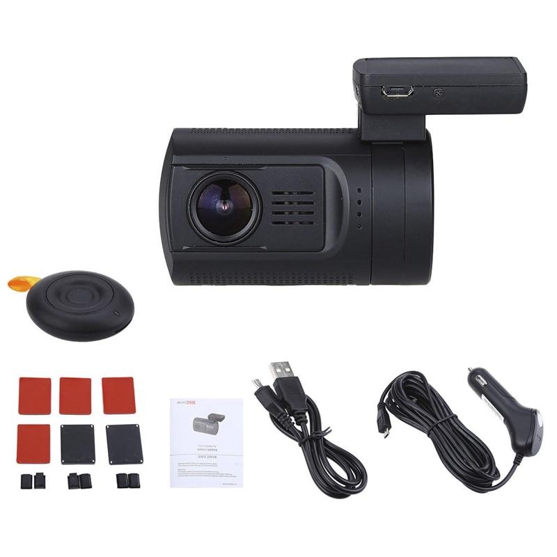 Mini Dvr Auto Dash Camera Speed Coördineren Gps 1080P 60FPS Hd Video Recorder Super Condensator Met Afstandsbediening Temperaturen