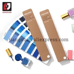 "Image 4 - PANTONE 2 ספרים/סט ארה""ב TPX/TPG FHIP110N 2310 סוגים של צבע מדריך אופנה פנים טקסטיל בגד"