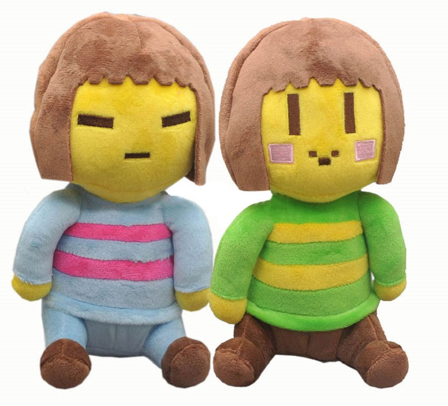 Undertale Plush Toys Chara Frisk Game Soft Stuffed Plush Toys  For Children Kids Gifts