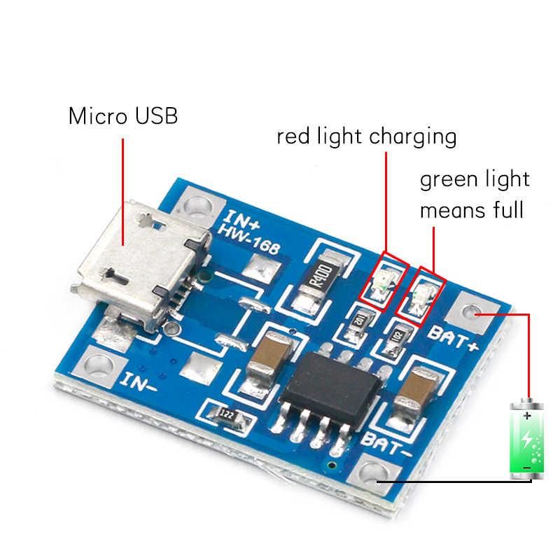 TP4056 1A Pin Lipo Bo Mạch Sạc Sạc Module Pin Lithium TỰ LÀM MICRO USB Cổng Giao Diện