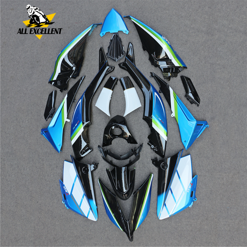 Motorcycle frame Bodywork fairing Body kits Cowlings ABS Injection For Yamaha TMAX530 2015 2016 TMAX 530 T-MAX