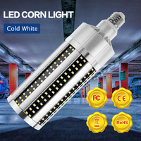 E27 LED Lamp 220V E39 High Power Corn Lamp LED 50W 54W 60W Light Bulb 100 277V for Garage Basement Gym Garage Square 2835 SMD