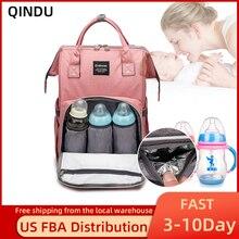 Пеленки мешок Рюкзак многофункциональный большой емкости детские путешествия подгузник сумки уход родильного рюкзак США распределение ФБА