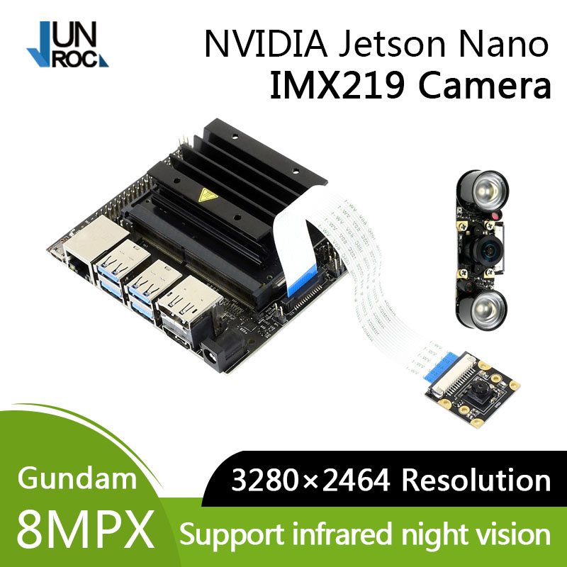 IMX219 Camera 77/120/160/200° FOV IR Camera Applicable For Jetson Nano