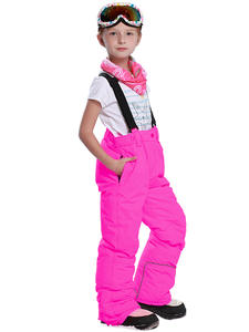 Detector Tracksuits Pants Overall Ski-Trousers Snow Waterproof Kids Winter Girls