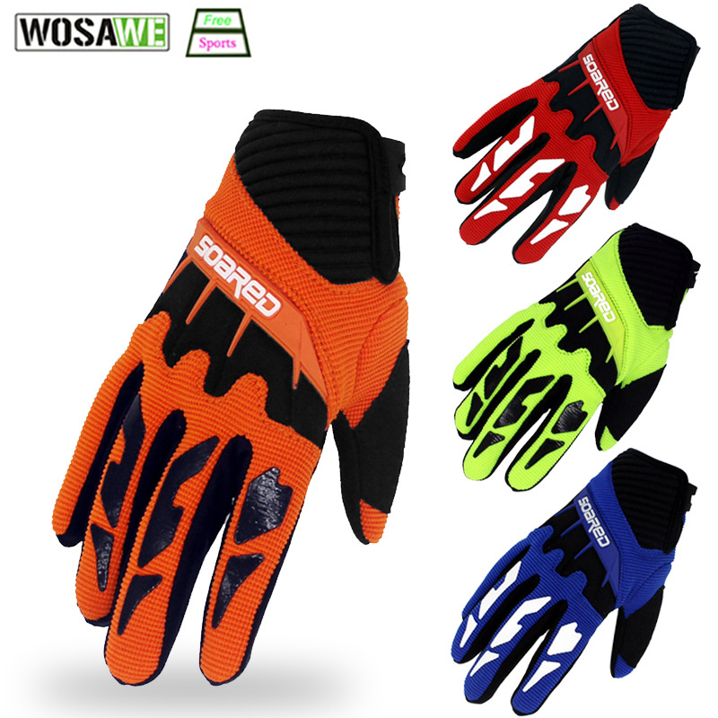 Children's Skiing Skating Gloves 3-12 Years Old Kids Roller Bicycle Mountain Bike Hand-Protection Full Finger Protect Equipment
