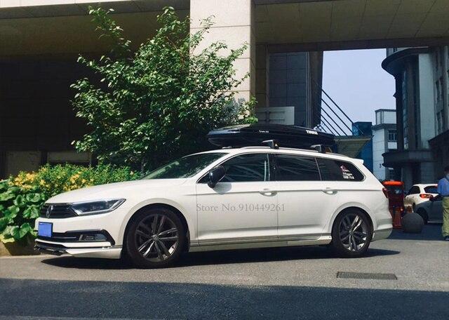 For Volkswagen Passat B8 Variant Arteon 2016-2020 Silver Black Exterior Headlight Eyebrow Cover Trims Front Light Lamp Frames 2