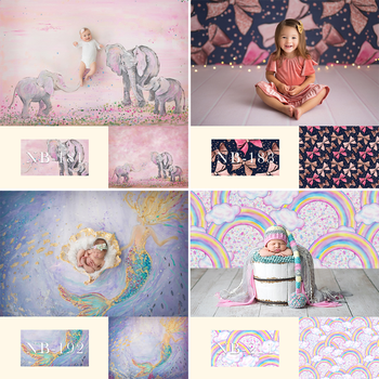 Newborn Baby Portray Photography Backdrop for Photo Studio Children Kids Birthday Background Decoration Portrait Photocall Props children birthday party selfie photo background decoration newborn baby kids portrait backdrop photography photo shoot photocall