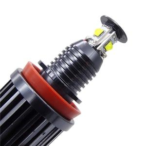 Image 5 - 2X H8 Fehler Kostenloser 40W XPE Chips LED Angel Eye Marker Lichter Lampen Für BMW E60 E61 E70 E71 e90 E92 E93 X5 X6 Z4 M3 Auto Zubehör