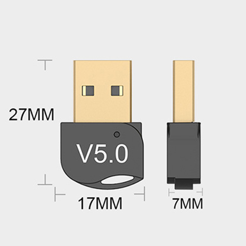Bluetooth Adapter USB For Bluetooth V5.0 Laptop Adapter PC Computer Receiver Win8/10 Phone Headset For  Bluetooth5.0
