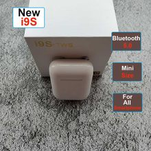 i9s i7s i10 TWS Bluetooth Earphone 5.0 mini Wireless Headsets Bass stereo Earbuds for apple ear iPhone auricular(China)