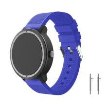 Yayuu Striped Silicone Universal strap Quick Release Band for Garmin Vivoactive 3/HR/Forerunner 645 /Huawei Watche 2/Ticwatch E