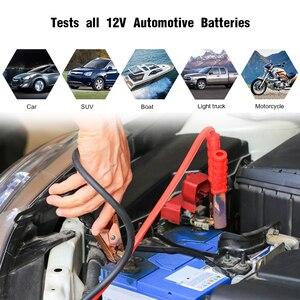 Image 4 - Konnwei KW208バッテリーテスター車デジタル12v 100 2000CCAクランキング充電システムテストツール自動車バッテリー容量テスター
