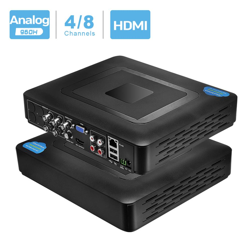 960H H 264 VGA HDMI Security 4CH 8CH CCTV DVR 4 Channel Mini DVR CCTV DVR 8 Channel 960H 15fps DVR RS485 PTZ For Analog Camera