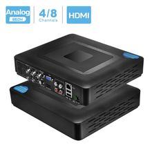 960H H.264 VGA HDMI güvenlik 4CH 8CH CCTV DVR 4 kanal Mini DVR CCTV DVR 8 kanal 960H 15fps DVR RS485 PTZ Analog kamera