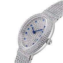 Devena Full Diamond Steel Bracelet Watches Woman Oval Quartz Watch Ladies Dress Watch Waterproof Top Brand Luxury Clock female цена 2017