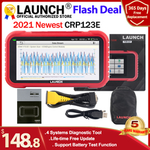 Launch X431 CRP123E OBD2 Diagnostic Tool ENG ABS Airbag SRS AT Creader 123E OBDII EOBD Code Reader Scanner