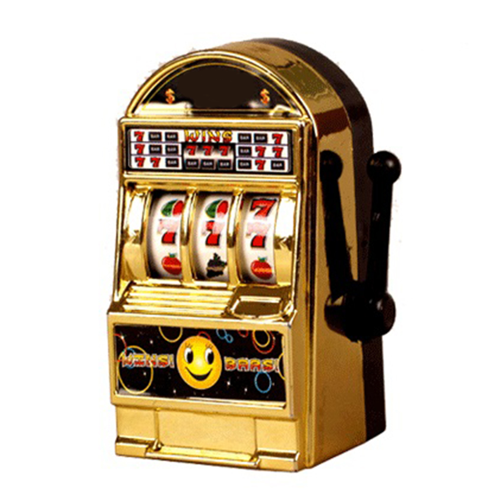 Vintage Mini Small Slot Machine Toy For Kid Children