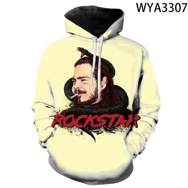 "Post Malone ""Rockstar"" Sweatshirt Hoodie 1"
