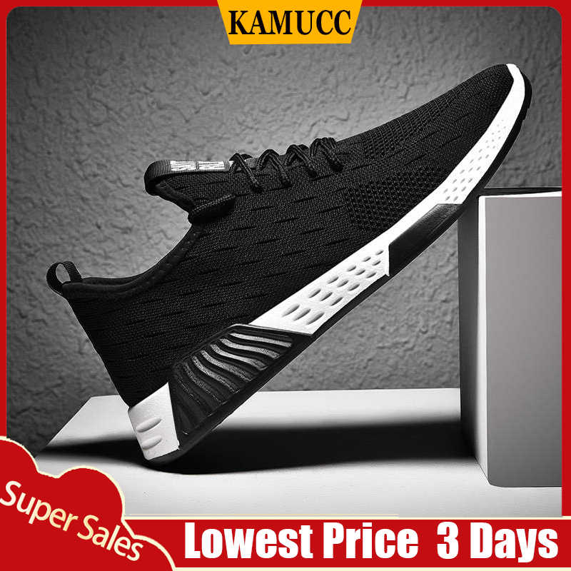 Men Vulcanize Shoes Sneakers Breathable Casual No-slip Men 2019 Male Air Mesh Lace up Wear-resistant Shoes tenis masculino