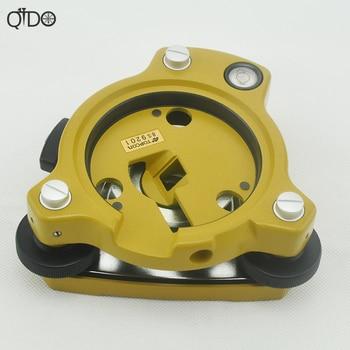 Nuevo Tribrach amarillo Original de tres mandíbula y adaptador modelo 10 sin Plummet óptico Topcon estación Total