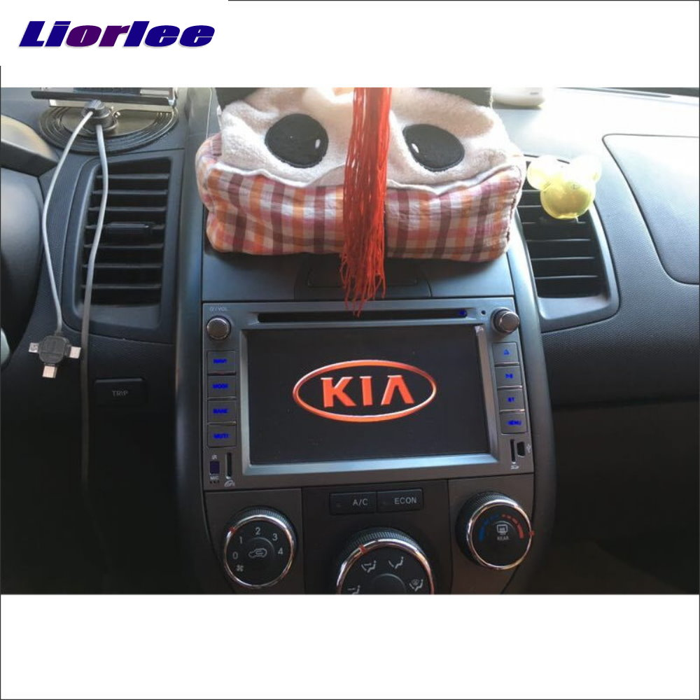 Liorlee For KIA Soul 2009-2011 Car Radio CD DVD Player TV Screen GPS Navi Navigation Audio Video Wince Multimedia System image