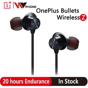 Oneplus Bullets Wireless Z bluetooth earphones Dynamic Magnetic Control for Oneplus 8 Pro 7T 7 Pro Original earphone