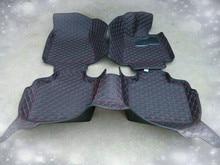цена на Full Cover Right Hand Steering RHD Carpet Durable Special Car Floor Mats for Audi A1 A3 A4 A4L A6 A6L A5 A8 A8L Q3 Q5 Q7 TT A7