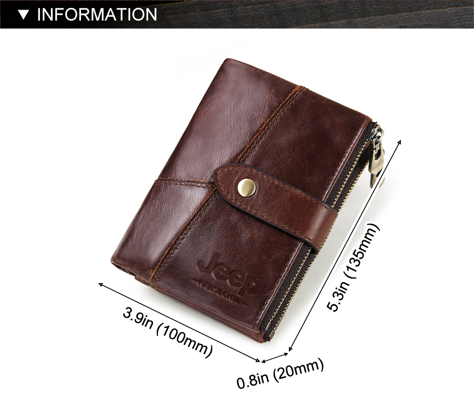 Rfid Genuine Leather Wallet Men Crazy Horse Wallets Coin Purse Short Male Money Bag Quality Designer Mini Walet Quality Designer