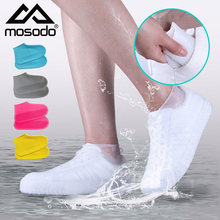 Silicone Waterproof Shoe Cover Multi Color Rainy Day Shoe Cover Anti Slip Thickening Wear Resistant Adult Silicone Rain Shoe
