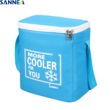 SANNE 8L insulated thermal bag Solid color cooler waterproof portable ice pack can carry food and drink