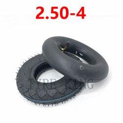 2,50-4 внутренняя трубка наружная шина 2,80/2,50-4 трубка шина для электрического газового скутера колесо аксессуар