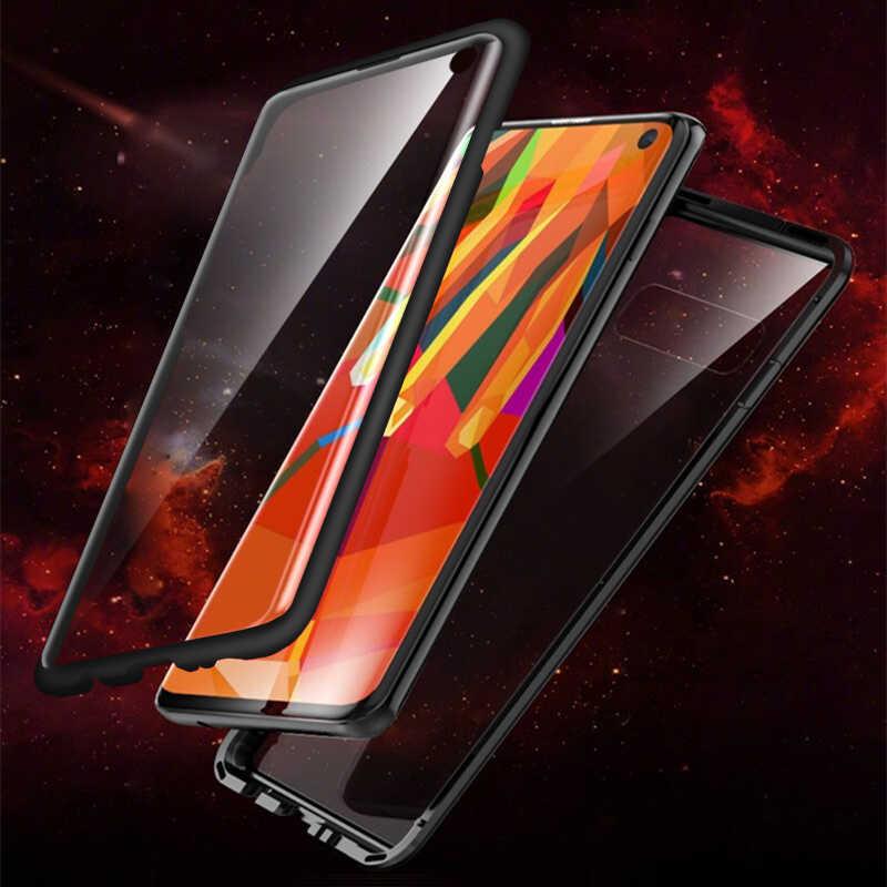 Voor Oppo Reno Ace Flip Case Oppo Realme Q 5pro Schokbestendig Gehard Glas Voor Oppo V17 Pro A5 A9 2020 a11 A11x A7 A5s F9 Shell