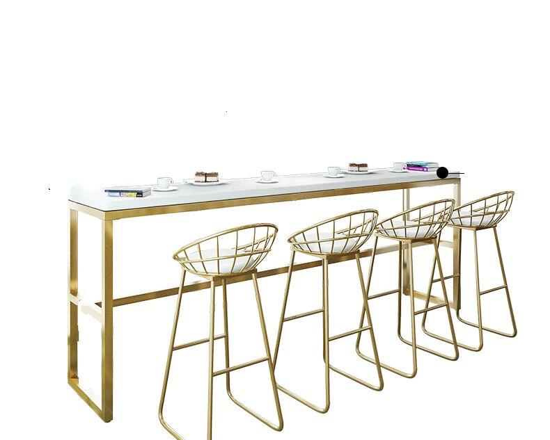 Nordic Leisure Net Red High Stool Home Modern Minimalist Light Luxury Backrest Chair Bar Chair Front Desk Bar Chair