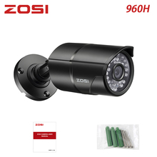 ZOSI 960H CCTV Len Camera Module 1000TVL IR Cut Filter Nightvision Video Waterproof Bullet Surveillance Camera for DVR Kiit