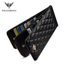 Williampolo Women Wallet Female Purse Leather Walle