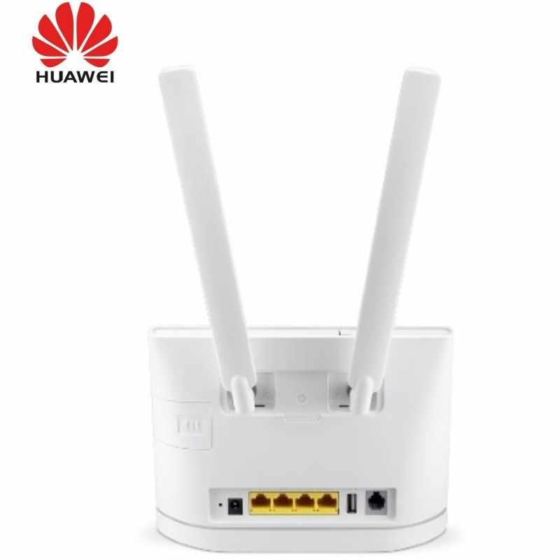 Huawei B315s 22 B315s 607 B315s 608 Lte Cpe 4g 4xlan Usb Roteador Wifi Móvel 2pcs Antena Null Aliexpress