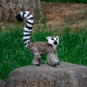 Simulation animal monkey lemur decoration crafts set photography prop monkey