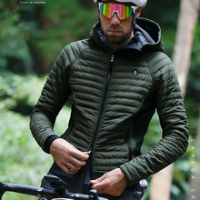 Cycling Clothes Winter Men Thermal Warm Bicycle Tight Jacket Windbreak Climbing Camping