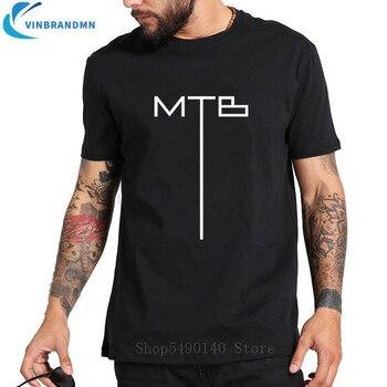 Забавная новейший дизайн MTB футболка с логотипом MTB эндуро Байкерская футболка велосипедная BMX рубашка XC футболка для велосипедиста футболк...