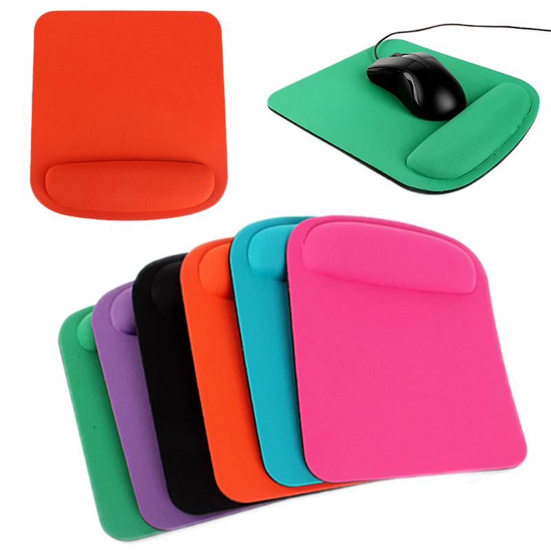 Mouse Pad With Wrist Support For School Office Anti Slip Thicken Mousepads Gamer Mice Mats For Desktop PC Computer Laptop