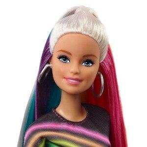 Image 4 - Модная Кукла Барби с радужными блестками, кукла с аксессуарами и одеждой Барби, модные игрушки для девочек, кукла для девочек