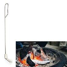 Нержавеющая сталь сажа Лопата крюк керамика барбекю плита аксессуары пастырской серии барбекю инструменты