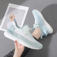 2021 nowe modne kolory damskie buty z siatką oddychające modne buty damskie wygodne ładne buty damskie z miękką podeszwą tanie tanio ZJNNK podstawowe CN (pochodzenie) Siateczka (przepuszczająca powietrze) Z niewielkim szpicem Styl uliczny RUBBER Sznurowane