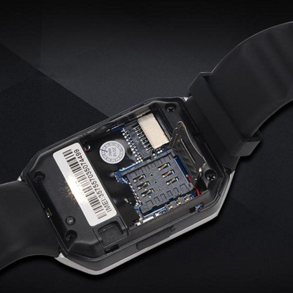 Crianças adulto relógio inteligente smartwatch dz09 android