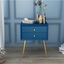 Прикроватный столик для спальни в скандинавском стиле, простой современный шкаф для хранения из твердой древесины, простой прикроватный маленький прикроватный шкаф