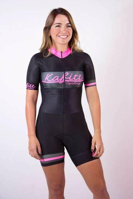2019 camisa de ciclismo uma peça saia macaco bicicleta estrada mulher verão terno 9d pro kafitt 4