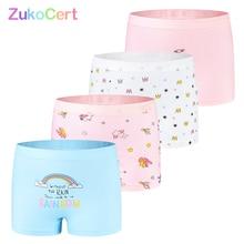 Cotton Girl Underwear Panties Briefs Girls Cartoon Children Soft Zukocert for Lovely