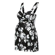 Женский летний купальник бикини с принтом для беременных, купальный костюм, бикини с висящей шеей, новая модная пляжная одежда L1224