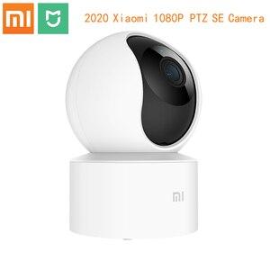 Image 1 - Original Xiaomi Mi Mijiaสมาร์ท1080Pเว็บแคม360 ° 2.4G Wi Fi 10เมตรอินฟราเรดNight Vision + NASไมค์ลำโพงหน้าแรกInteler Home Cam